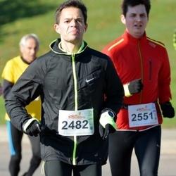 """Vilnius 10 km run, """"Run with Živilė Balčiūnaitė"""". - Andrius Laurinavičius (2482)"""