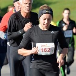 """Vilnius 10 km run, """"Run with Živilė Balčiūnaitė"""". - Jelena Grigienė (162)"""