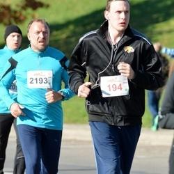 """Vilnius 10 km run, """"Run with Živilė Balčiūnaitė"""". - Mindaugas Berniūnas (194), Egidijus Šimkūnas (2193)"""