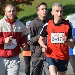 """Vilnius 10 km run, """"Run with Živilė Balčiūnaitė"""". - Ruta Stonkute (201), Viktoras Velicka (2417)"""