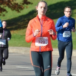 """Vilnius 10 km run, """"Run with Živilė Balčiūnaitė"""". - Justina Milevskytė (329)"""