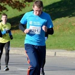 """Vilnius 10 km run, """"Run with Živilė Balčiūnaitė"""". - Artūras Šliažas (2391)"""