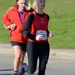 """Vilnius 10 km run, """"Run with Živilė Balčiūnaitė"""". - Rūta Gervelytė (2165)"""