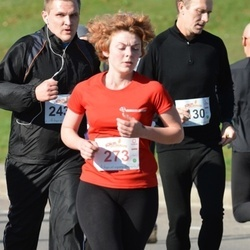 """Vilnius 10 km run, """"Run with Živilė Balčiūnaitė"""". - Onė Kartanaitė (273)"""