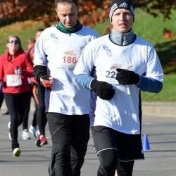 """Vilnius 10 km run, """"Run with Živilė Balčiūnaitė"""". - Gytis Juodišius (186)"""