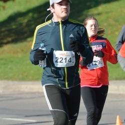 """Vilnius 10 km run, """"Run with Živilė Balčiūnaitė"""". - Rolandas Launikonis (2214)"""