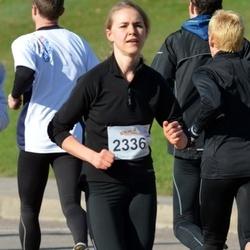 """Vilnius 10 km run, """"Run with Živilė Balčiūnaitė"""". - Ieva Motūzaitė (2336)"""