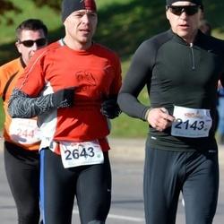 """Vilnius 10 km run, """"Run with Živilė Balčiūnaitė"""". - Raimundas Rinkevicius (2143), Eldaras Gilys (2643)"""