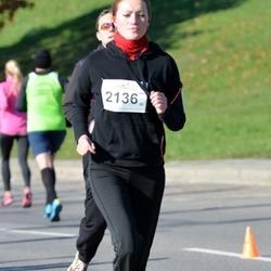"""Vilnius 10 km run, """"Run with Živilė Balčiūnaitė"""". - Birutė Skrockienė (2136)"""