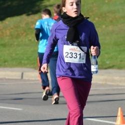 """Vilnius 10 km run, """"Run with Živilė Balčiūnaitė"""". - Saule Paseckaite (2331)"""