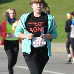 """Vilnius 10 km run, """"Run with Živilė Balčiūnaitė"""". - Agnė Kučinskaitė (239)"""