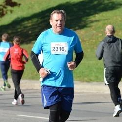 """Vilnius 10 km run, """"Run with Živilė Balčiūnaitė"""". - Vladas Kojala (2316)"""