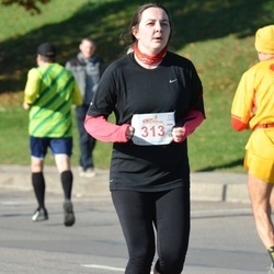 """Vilnius 10 km run, """"Run with Živilė Balčiūnaitė"""". - Ieva Valančienė (313)"""