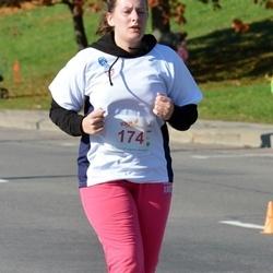 """Vilnius 10 km run, """"Run with Živilė Balčiūnaitė"""". - Eglė Jančytė (174)"""