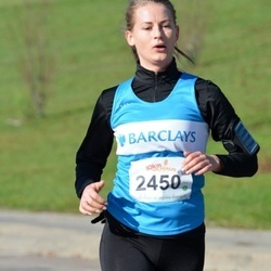 """Vilnius 10 km run, """"Run with Živilė Balčiūnaitė"""". - Arnita Pečeliūnaitė (2450)"""