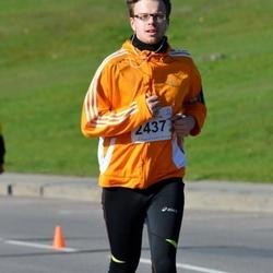 """Vilnius 10 km run, """"Run with Živilė Balčiūnaitė"""". - Rytis Kėvelaitis (2437)"""