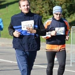 """Vilnius 10 km run, """"Run with Živilė Balčiūnaitė"""". - Janas Jacevičius (2042), Evaldas Povilaitis (2162)"""