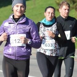 """Vilnius 10 km run, """"Run with Živilė Balčiūnaitė"""". - Greta Bielskienė (2633)"""