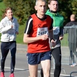 """Vilnius 10 km run, """"Run with Živilė Balčiūnaitė"""". - Viktoras Velicka (2417)"""
