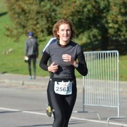 """Vilnius 10 km run, """"Run with Živilė Balčiūnaitė"""". - Danguolė Bičkūnienė (2563)"""