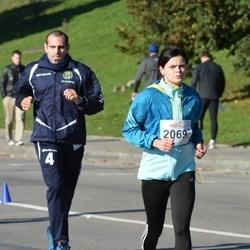 """Vilnius 10 km run, """"Run with Živilė Balčiūnaitė"""". - Neringa Dambrauskaitė (2069)"""
