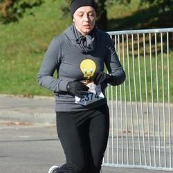 """Vilnius 10 km run, """"Run with Živilė Balčiūnaitė"""". - Aistė Jakštienė (2374)"""