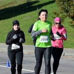 """Vilnius 10 km run, """"Run with Živilė Balčiūnaitė"""". - Nijolė Ona Jablonskienė (2054), Julija Vaščiūnaitė (2300)"""