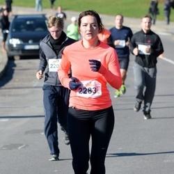 """Vilnius 10 km run, """"Run with Živilė Balčiūnaitė"""". - Inga Gaidamavičiūtė (2283)"""