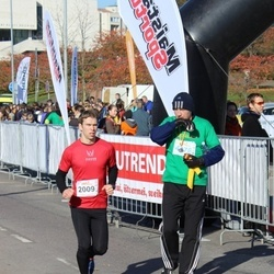 """Vilnius 10 km run, """"Run with Živilė Balčiūnaitė"""". - Aurimas Bagdonavičius (2009)"""