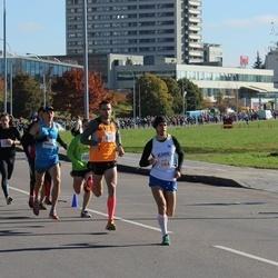 """Vilnius 10 km run, """"Run with Živilė Balčiūnaitė"""". - Remigijus Kančys (384), Justinas Beržanskis (2295)"""