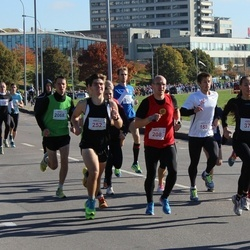 """Vilnius 10 km run, """"Run with Živilė Balčiūnaitė"""". - Dmitrij Malinin (153), Vladimir Lomov (208), Andrius Bursovas (252), Evelina Uševaitė (375), Andrius Jagminas (2068)"""