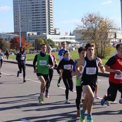 """Vilnius 10 km run, """"Run with Živilė Balčiūnaitė"""". - Andrius Bursovas (252), Andrius Jagminas (2068)"""
