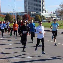 """Vilnius 10 km run, """"Run with Živilė Balčiūnaitė"""". - Evaldas Nausėda (289), Remigijus Zigmantas (2212)"""