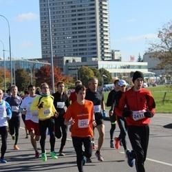 """Vilnius 10 km run, """"Run with Živilė Balčiūnaitė"""". - Jonathan Silberstein (286), Algirdas Bartkevičius (2411)"""