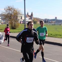 """Vilnius 10 km run, """"Run with Živilė Balčiūnaitė"""". - Vaidas Vilda (2306)"""