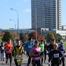 """Vilnius 10 km run, """"Run with Živilė Balčiūnaitė"""". - Lilija Kurnosova (278), Regina Čistiakova (2319), Simonas Narvydas (2622)"""