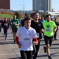 """Vilnius 10 km run, """"Run with Živilė Balčiūnaitė"""". - Vytautas Naujokas (2595), Regimantas Šnipaitis (2642)"""