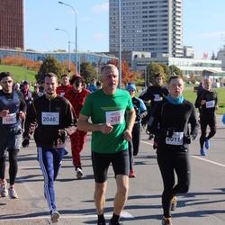 """Vilnius 10 km run, """"Run with Živilė Balčiūnaitė"""". - Gintautas Masaitis (268), Giedrius Martinaitis (2011), Artūras Bendorius (2046)"""
