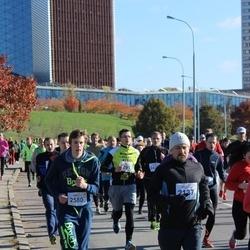 """Vilnius 10 km run, """"Run with Živilė Balčiūnaitė"""". - Darius Korla (2137), Vytautas Grybas (2580)"""