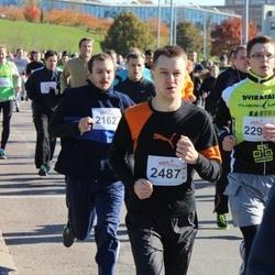 """Vilnius 10 km run, """"Run with Živilė Balčiūnaitė"""". - Vaidas Jozoshvilis (2487)"""