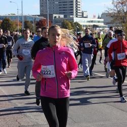 """Vilnius 10 km run, """"Run with Živilė Balčiūnaitė"""". - Aidė Noreikienė (2222)"""