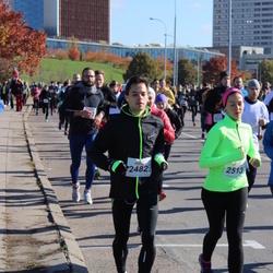 """Vilnius 10 km run, """"Run with Živilė Balčiūnaitė"""". - Andrius Laurinavičius (2482), Laima Gustainyte (2513)"""