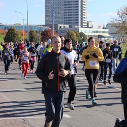 """Vilnius 10 km run, """"Run with Živilė Balčiūnaitė"""". - Greta Paulauskaitė (355)"""