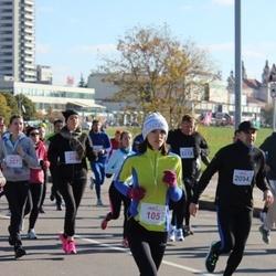 """Vilnius 10 km run, """"Run with Živilė Balčiūnaitė"""". - Diana Tomickytė (105)"""