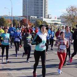 """Vilnius 10 km run, """"Run with Živilė Balčiūnaitė"""". - Gintare Zalinkeviciute (211), Inga Vaistoraite (292)"""
