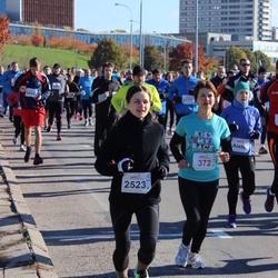 """Vilnius 10 km run, """"Run with Živilė Balčiūnaitė"""". - Jelena Boroško (372), Asta Daudaitė (2523)"""