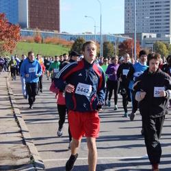 """Vilnius 10 km run, """"Run with Živilė Balčiūnaitė"""". - Kristupas Mišutis (2442)"""