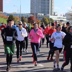 """Vilnius 10 km run, """"Run with Živilė Balčiūnaitė"""". - Aurimas Gervinskas (2148), Jelizaveta Baranova (2252)"""