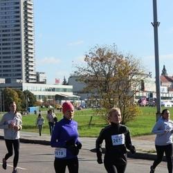 """Vilnius 10 km run, """"Run with Živilė Balčiūnaitė"""". - Vilija Dulevičiūtė (2617), Ramona Mašauska (2618)"""