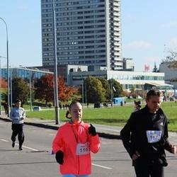 """Vilnius 10 km run, """"Run with Živilė Balčiūnaitė"""". - Augustė Makštutytė (116), Gintaras Makštutis (117)"""